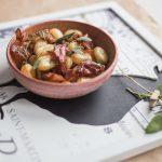 gnocchi z szałwią smażoną na maśle i szynką parmeńską