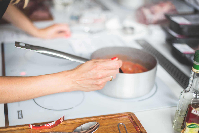 Julita i konfitura z pomidorów