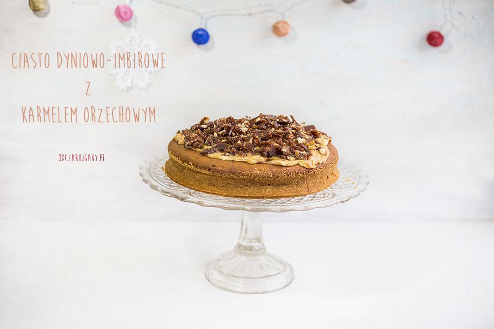 ciasto dyniowo imbirowe