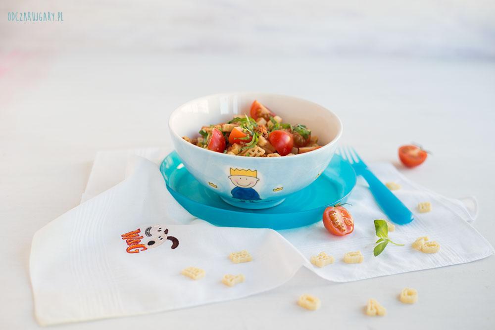 makaron-z-mięsem-i-pomidorami